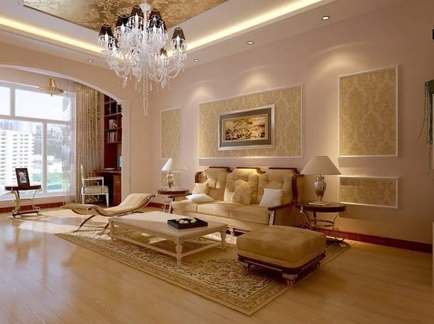 欧式风格之客厅